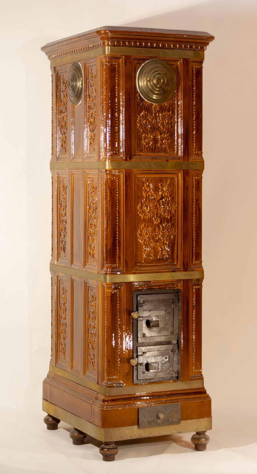 Stufa-legna-1900-restaurata